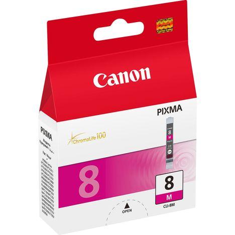 CANON Cartouche CLI-8M - Cartouche d'encre Magenta 0622B001