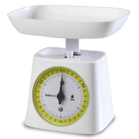 Balance de cuisine m canique 862385 selecline pas cher prix auchan - Balance de cuisine mecanique precise ...