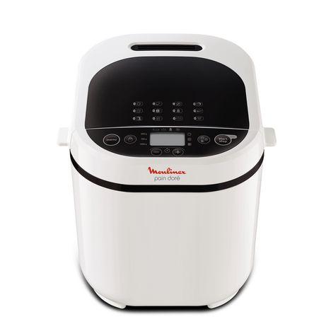 MOULINEX Machine à pain OW210130 pain doré - Blanc