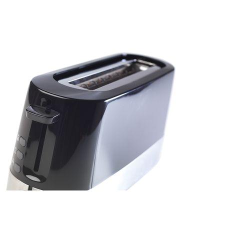 QILIVE Grille pain Q.5785, noir/inox