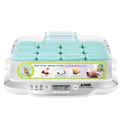 Yaourtiere Multidelices Family Yg6581fr 600 W Seb Pas Cher A Prix
