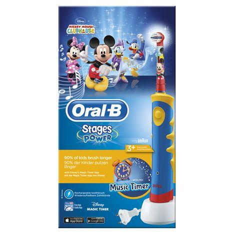 ORAL B Brosse à dents électrique Kids Stages Power, Mickey