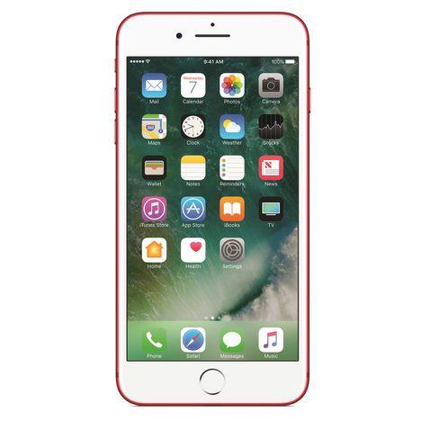iphone 7 plus rouge 256 go apple pas cher prix auchan. Black Bedroom Furniture Sets. Home Design Ideas