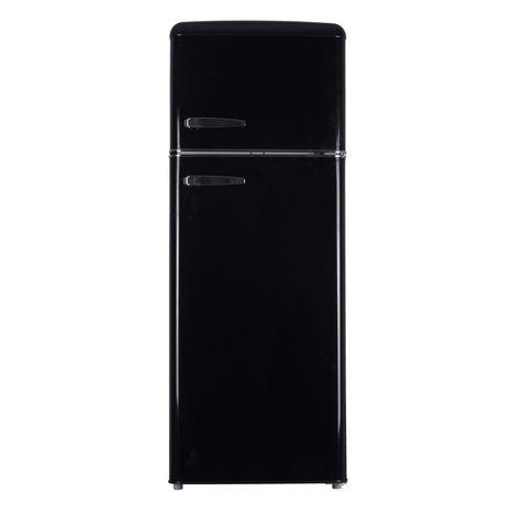 R frigerateur double porte jdp220rn 215 l curtiss pas cher prix auchan - Refrigerateur vintage pas cher ...
