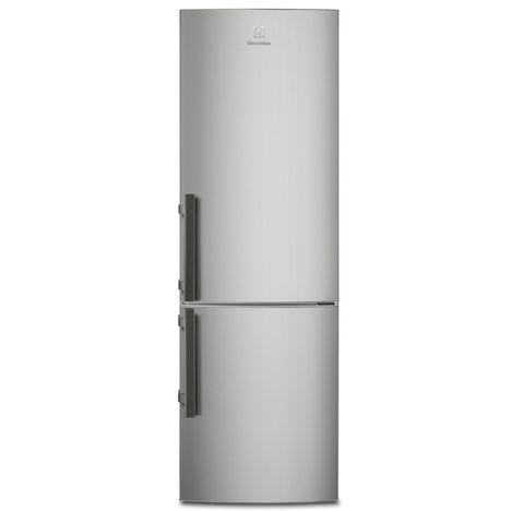 R frig rateur combin en3605jox 337 l froid brass for Refrigerateur froid ventile ou brasse