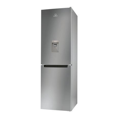 INDESIT Réfrigérateur Combiné LR8 S1 S AQ - 335 L - Froid Statique