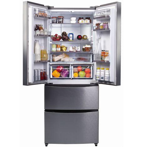Réfrigérateur Combiné CCMN IXS L Froid No Frost CANDY - Refrigerateur 4 portes