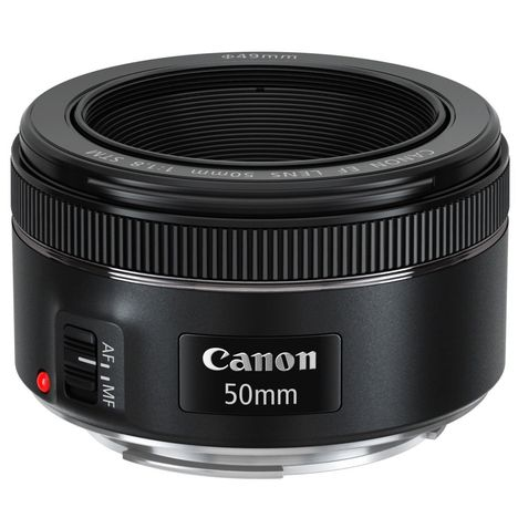 CANON EF 50mm f/1.8 STM - Optique photo