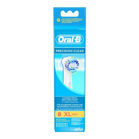 BRAUN accessoires electromenager EB20x8 8 Brossettes Precision Clean Oral B