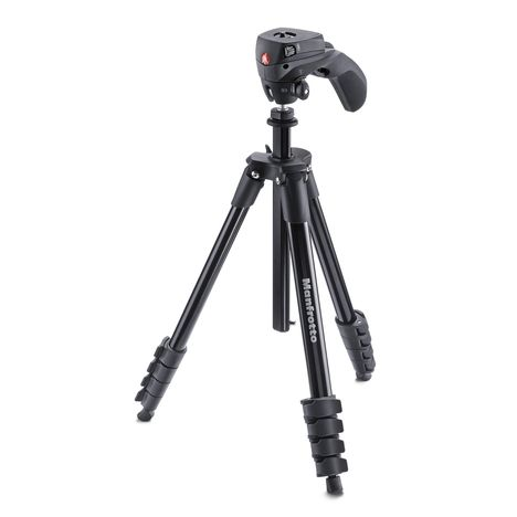 MANFROTTO Compact Action MKCOMPACTACN-BK - Noir - Trépied