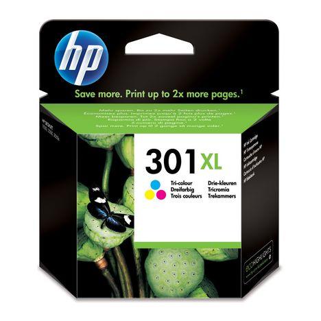 HP Cartouche d'Encre HP 301XL Trois Couleurs grande capacité Authentique (CH564EE)