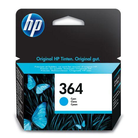 HP Cartouche d'Encre HP 364 Cyan Authentique (CB318EE)