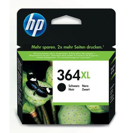 HP Cartouche d'Encre HP 364XL Noire grande capacité Authentique (CN684EE)