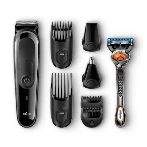 BRAUN Tondeuse MGK3060 Face&Head Precision Trimming Kit