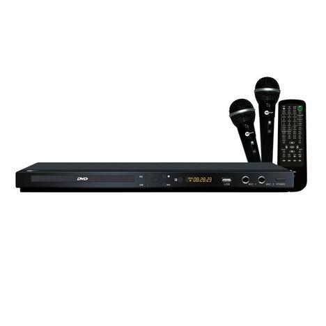 MPMAN XVDK 800 - Lecteur DVD avec fonction karaoké