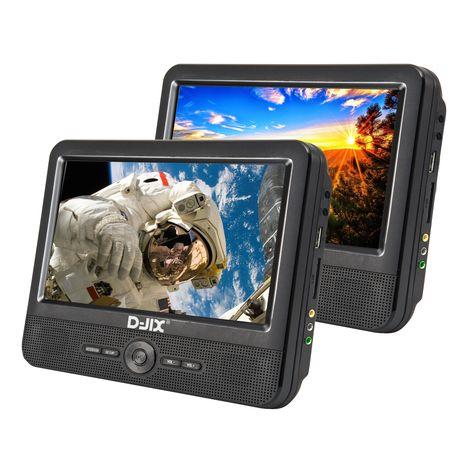 D-JIX Double Lecteur DVD portable PVS 906-70DP