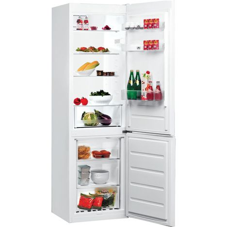 WHIRLPOOL Réfrigérateur combiné BLFV8001W, 338 L, Froid Brassé
