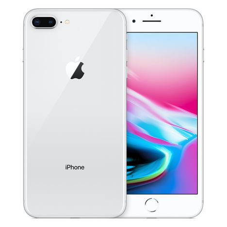APPLE Iphone 8+ - 256 Go - 5,5 pouces - Argent