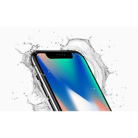 Iphone X 64 Go 5 8 Pouces Argent Apple Pas Cher A Prix Auchan