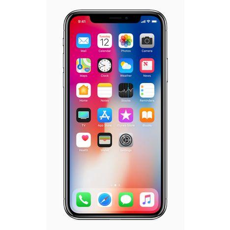 Iphone X - 64 Go - 5,8 pouces - Gris APPLE pas cher à prix Auchan f6b26b88a090