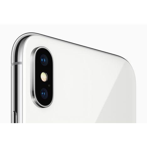 Iphone X 256 Go 5 8 Pouces Argent Apple Pas Cher A Prix Auchan