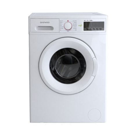 lave linge hublot dwd mv1221 6 kg 1200 t min daewoo pas cher prix auchan. Black Bedroom Furniture Sets. Home Design Ideas