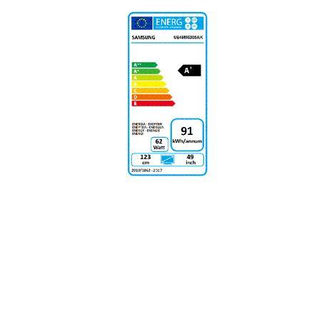 3da39ee381dfc3 UE49M6305 TV LED Full HD 123 cm Incurvé Smart TV SAMSUNG pas cher à ...