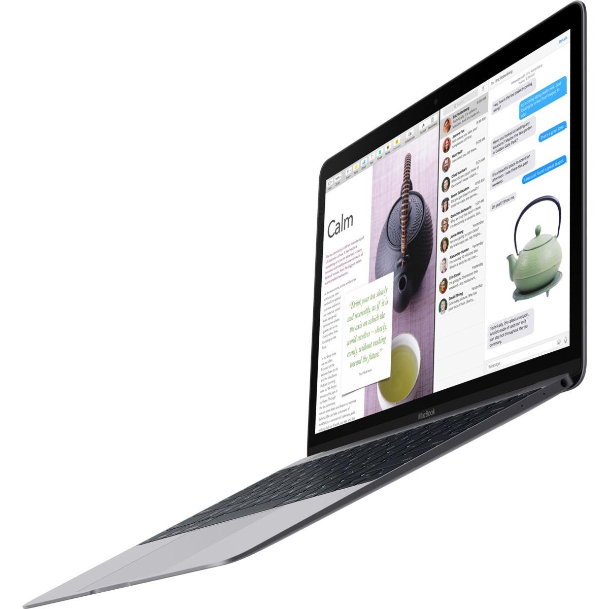 APPLE Ordinateur portable Macbook MNYG2FN/A - Gris sidéral