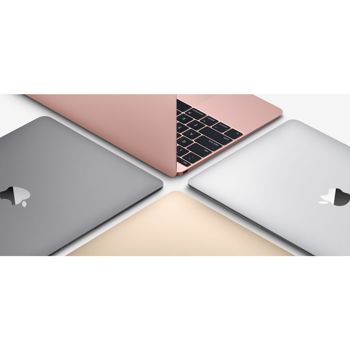 APPLE Ordinateur portable Macbook MNYG2FN/A - Gris sidéral