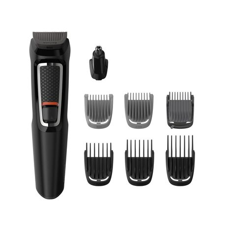 PHILIPS Tondeuse 8-en-1 Visage et Cheveux Multigroom series 3000