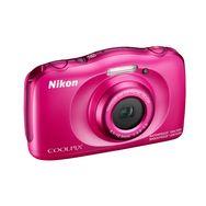 NIKON COOLPIX W100 - Rose - Appareil photo compact + Sac