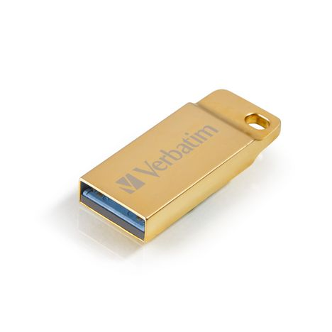 VERBATIM Clé USB Metal Executive dorée - USB 2.0 - 32Go