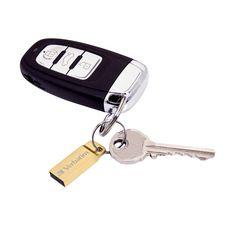 VERBATIM Clé USB Métal Executive - USB 3.0/2.0 - 64 Go - Or