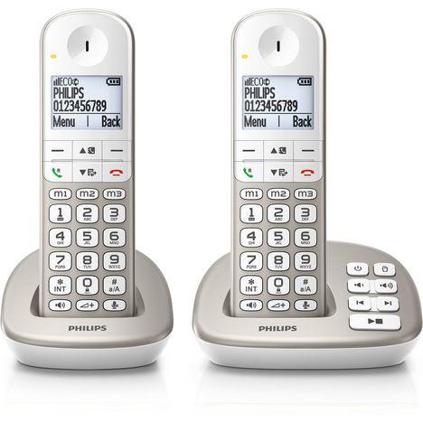 690646b152cc2e PHILIPS Téléphone fixe XL4952S FR PHILIPS Téléphone fixe XL4952S FR ...