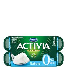 ACTIVIA Activia 0% nature 8x125g