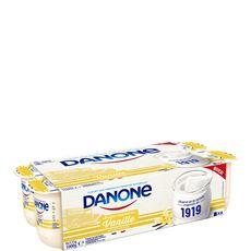 DANONE DANONE Yaourt à la vanille 8x125g 8x125g
