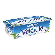DANONE Velouté yaourt brassé nature 8x125g