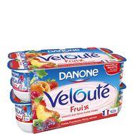 Danone  velouté fruix yaourt aux fruits mixés panaché 16x125