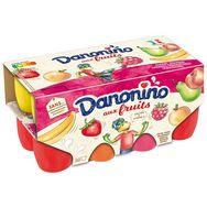 Danonino petit suisse fruits danonino panaché 16x50g