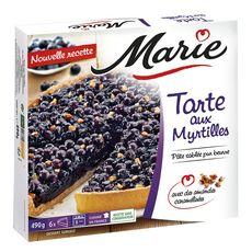 MARIE Tarte aux myrtilles 6 portions 490g