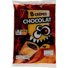 Rik & Rok crêpes fourrées chocolat x8 - 256g