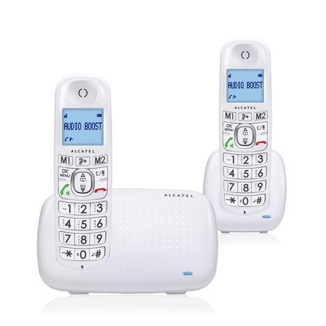 ALCATEL Téléphone fixe - XL385 - Blanc