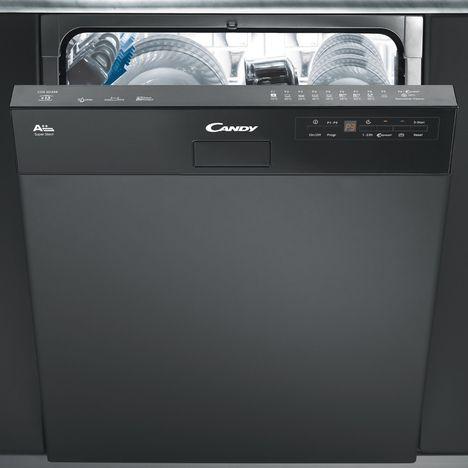 lave vaisselle semi encastrable cds2d35b 13 couverts 60. Black Bedroom Furniture Sets. Home Design Ideas