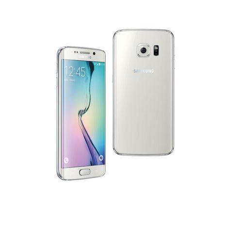 smartphone galaxy s6 edge blanc astral 32 go samsung pas cher prix auchan. Black Bedroom Furniture Sets. Home Design Ideas