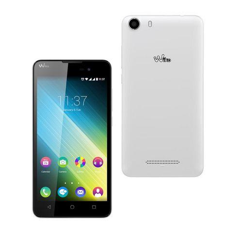 42f8dde3a17a12 WIKO Smartphone LENNY 2 - 4 Go - 5 pouces - Blanc .