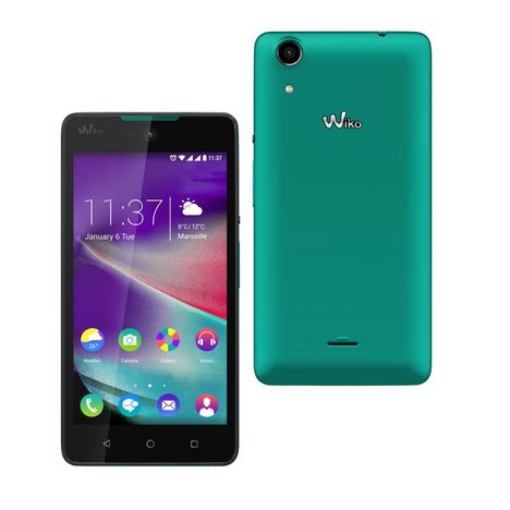 smartphone rainbow lite 4g turquoise double sim wiko. Black Bedroom Furniture Sets. Home Design Ideas