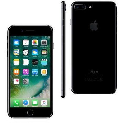 iphone 7 noir jais 256 go apple pas cher prix auchan. Black Bedroom Furniture Sets. Home Design Ideas