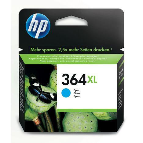 HP Cartouche d'Encre HP 364XL Cyan grande capacité Authentique (CB323EE)