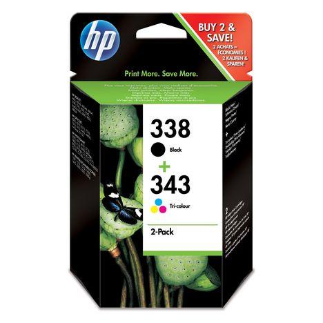 HP Cartouche 338/343