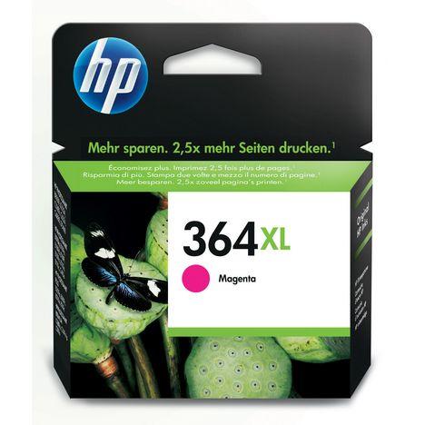 HP Cartouche d'Encre HP 364XL Magenta grande capacité Authentique (CB324EE)